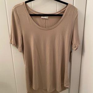 Babaton 'SAMI' T-Shirt in Beige